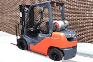Forklift snow