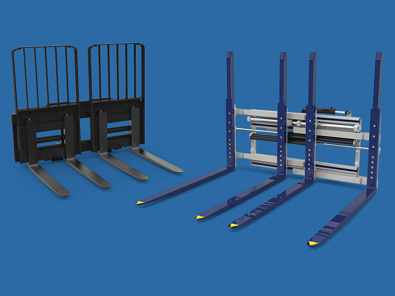 Multiple Load Handler forklift attachment