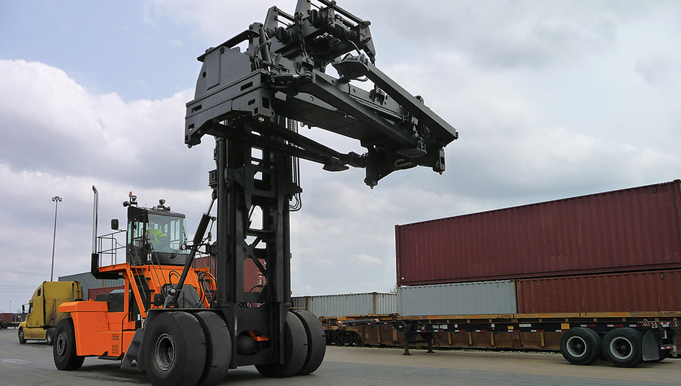 Shipping Container Handler