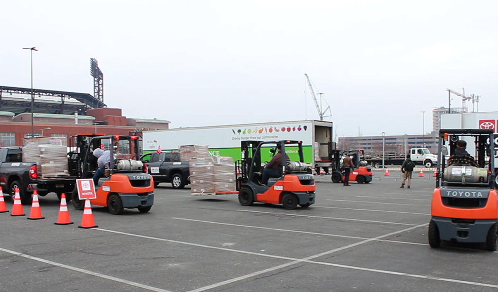 Rent Forklift in New York