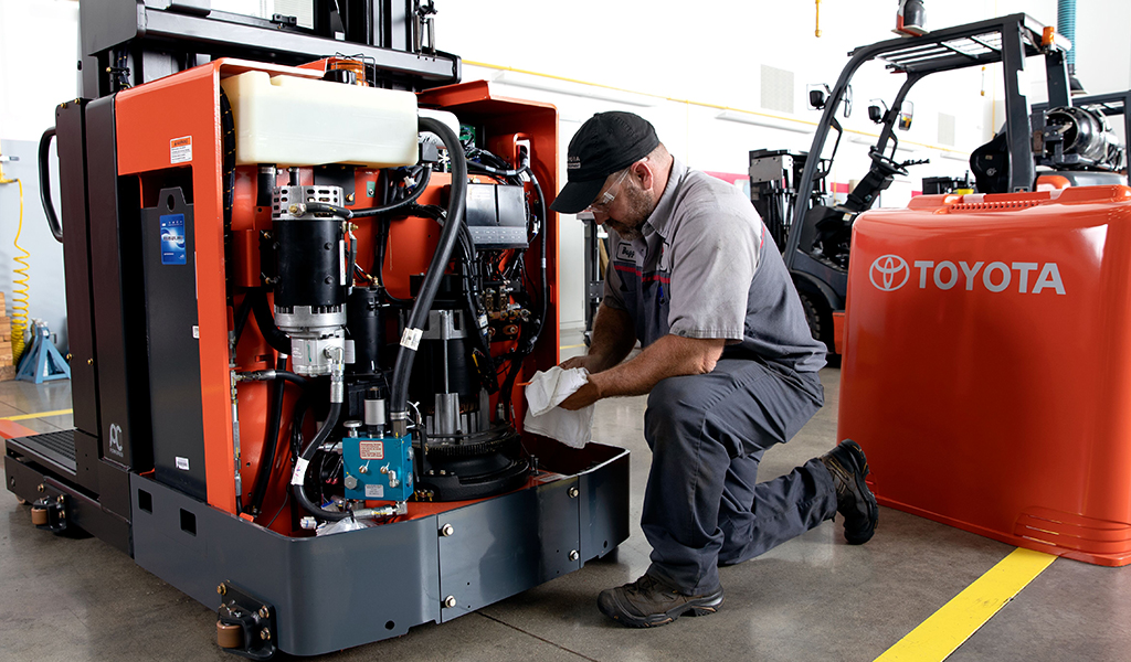 Forklift repair New York