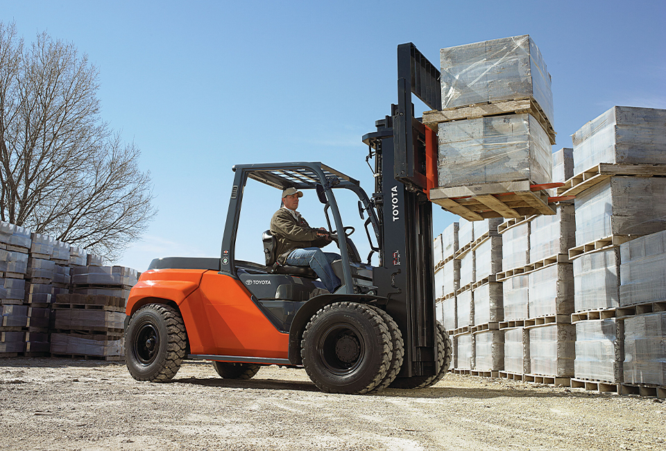 Toyota Forklift IC Pneumatic