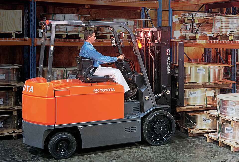 Large Electric Forklift Toyota