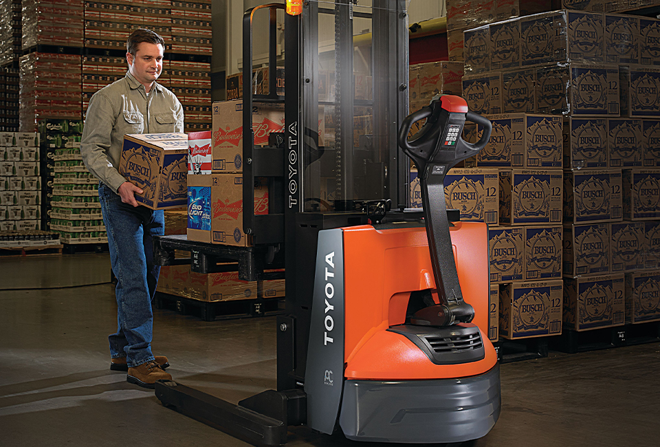 Forklift Walkie Stacker
