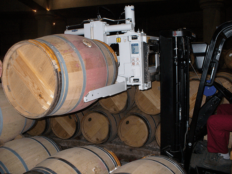 Forklift Wine Barrel Handler Attachment