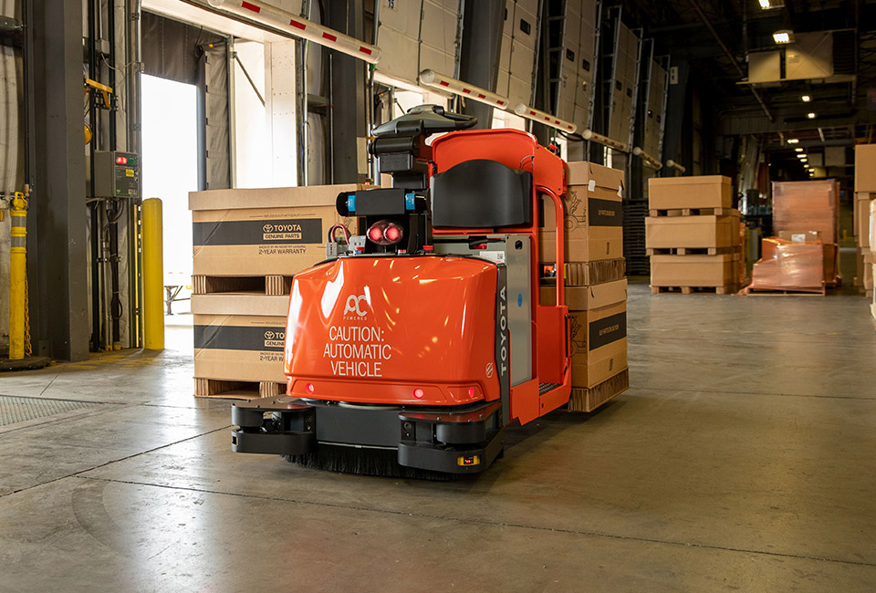 Automated Forklift Truck