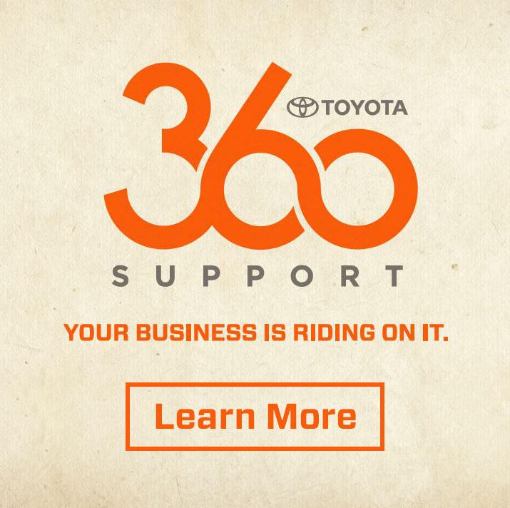 Toyota 360 Support - CTA