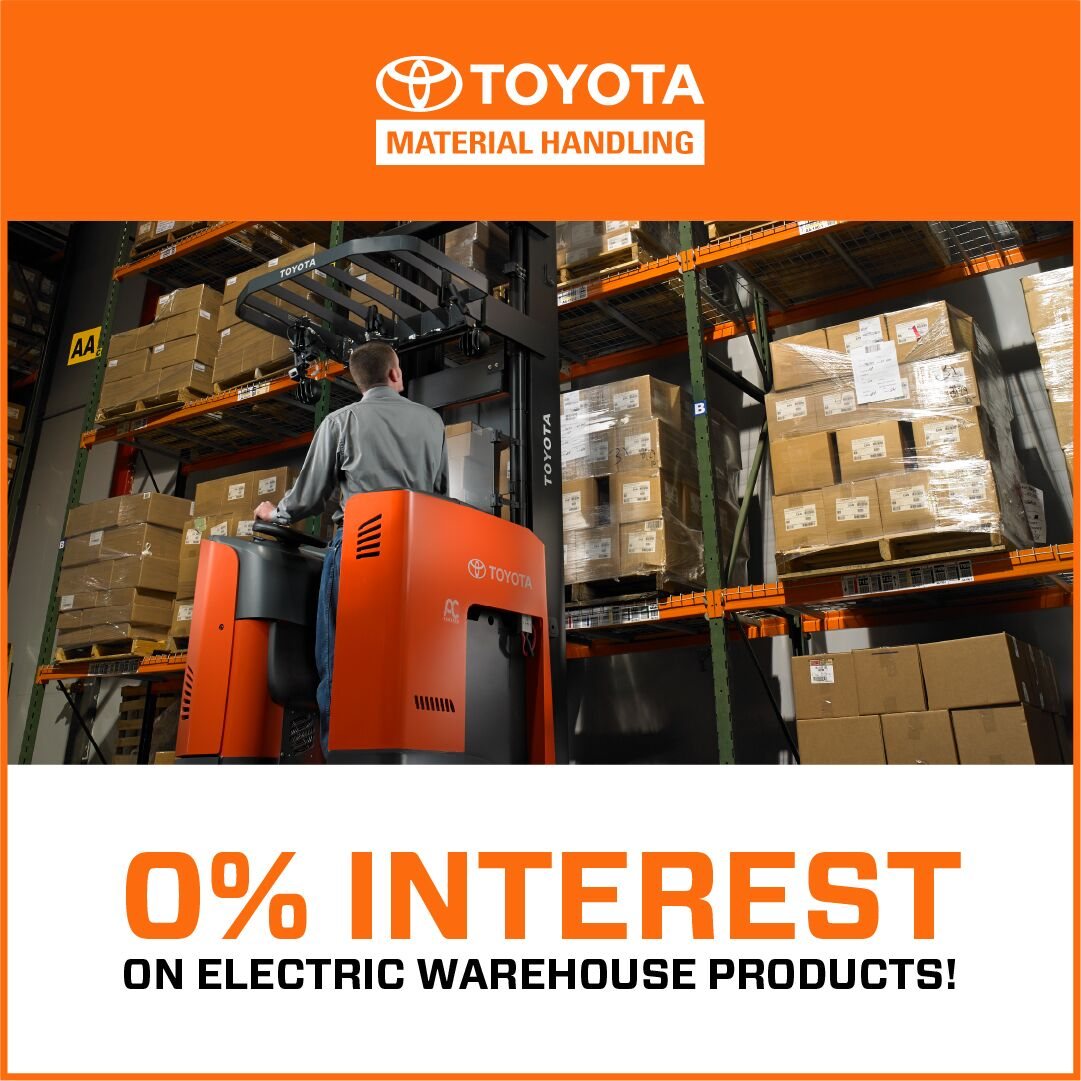Lease Event - Toyota Forklift Promotion