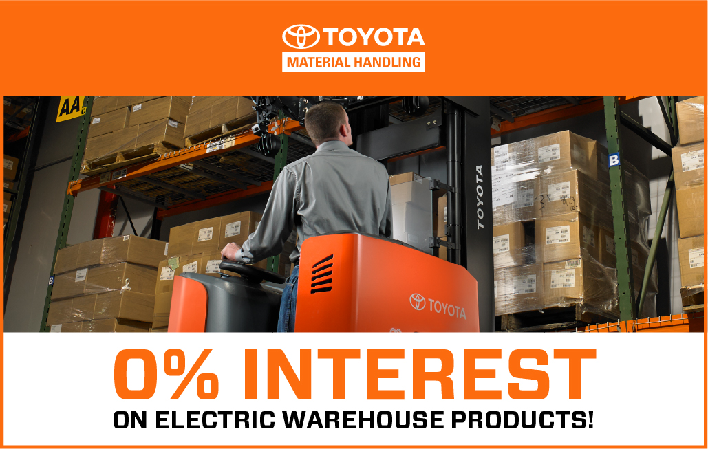 Toyota Electric Forklift Sales Event