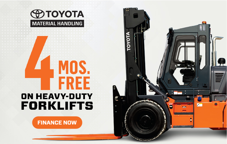 Heavy-Duty Forklifts Sales promotion