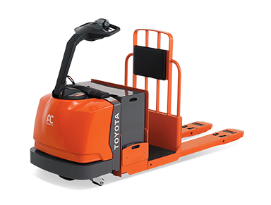 Centered Controlled Rider Pallet Jack