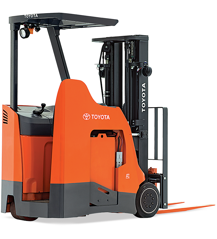 What is a Stand-up forklift