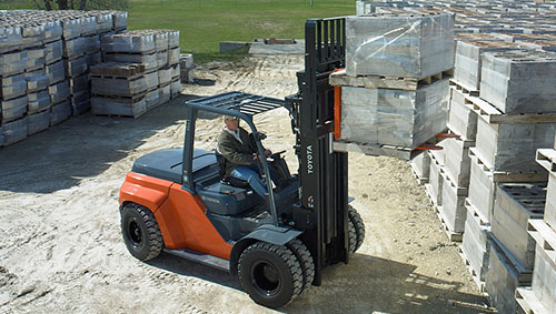 Toyota Large IC Forklift