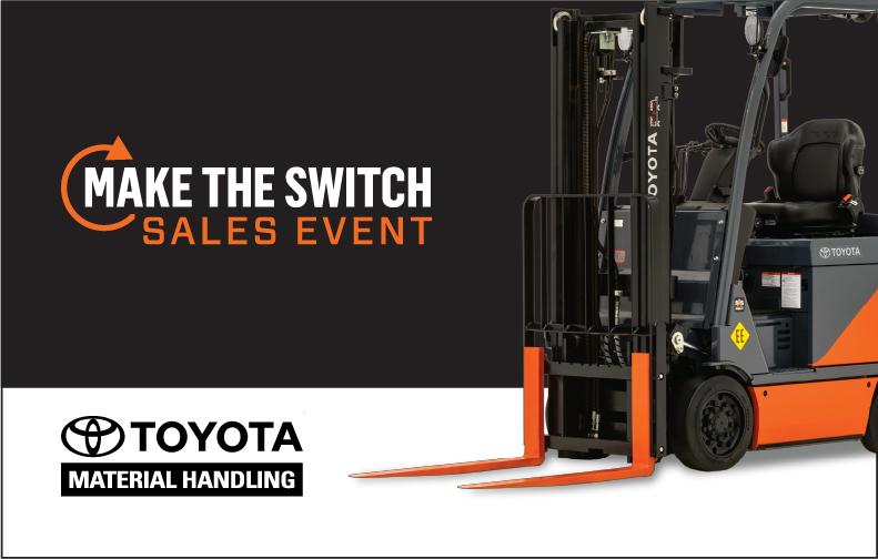 Toyota Promotion Sales event Forklift