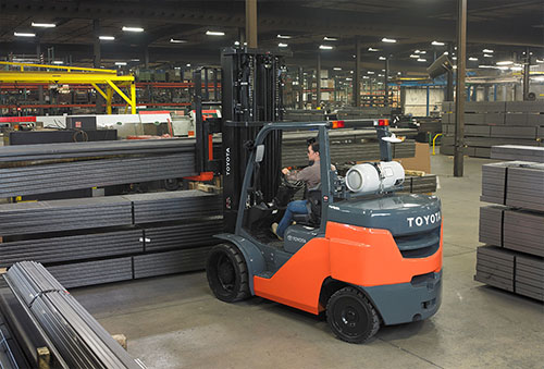 Toyota Cushion IC Forklift